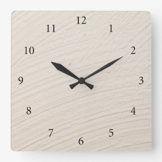 Finery background square wall clock