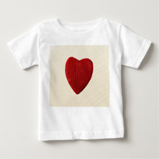 Finery background with heart baby T-Shirt