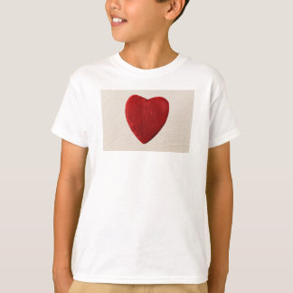 Finery background with heart T-Shirt