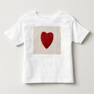 Finery background with heart toddler t-shirt