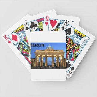 Fines anormales del Tor de Alemania Berlín Branden Baraja Cartas De Poker