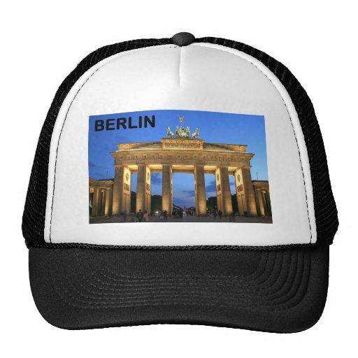 Fines anormales del Tor de Alemania Berlín Branden Gorros Bordados