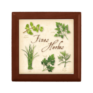 Fines Herbes, Parsley, Chives, Tarragon, Chervil, Gift Box