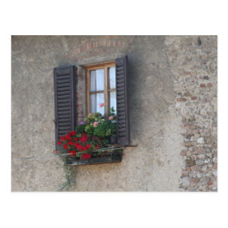 finestra di villa postales