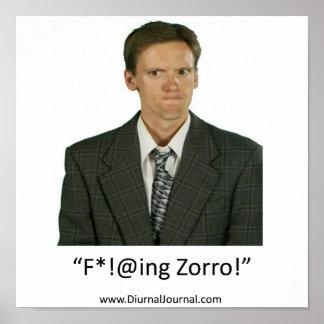 fing zorro 2 posters
