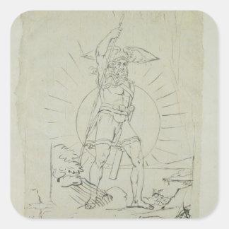 Fingal, 1804-5 square sticker
