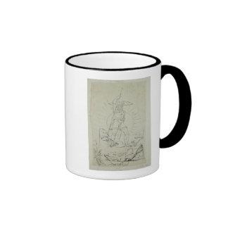 Fingal, 1804-5 taza de dos colores