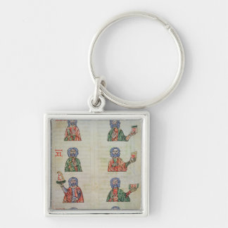 Finger counting from 1 to 20000 keychain