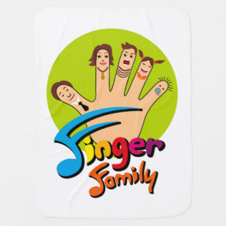 Finger Family Baby Blankets