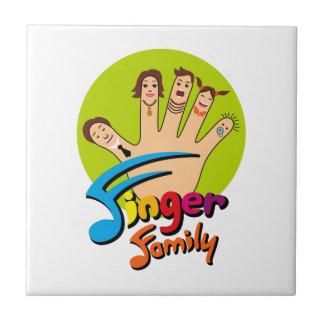 Finger Family Ceramic Tile
