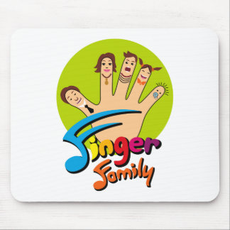 Finger Family Mouse Pad