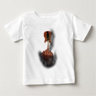 Finger Insult Guitar Baby T-Shirt