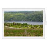 Finger Lakes Vinyard (Blank) Card