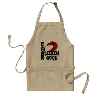 Finger Lickin Good Adult Apron