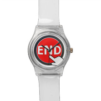 Finger on the Button Wristwatch