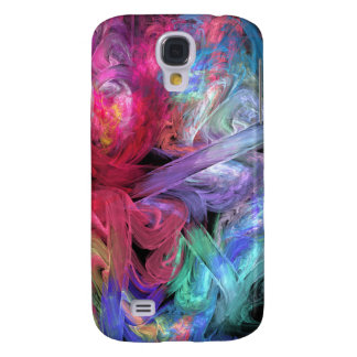 Finger Paints Abstract Fractal Art Samsung S4 Case