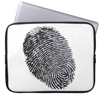 Finger Print Laptop Sleeve