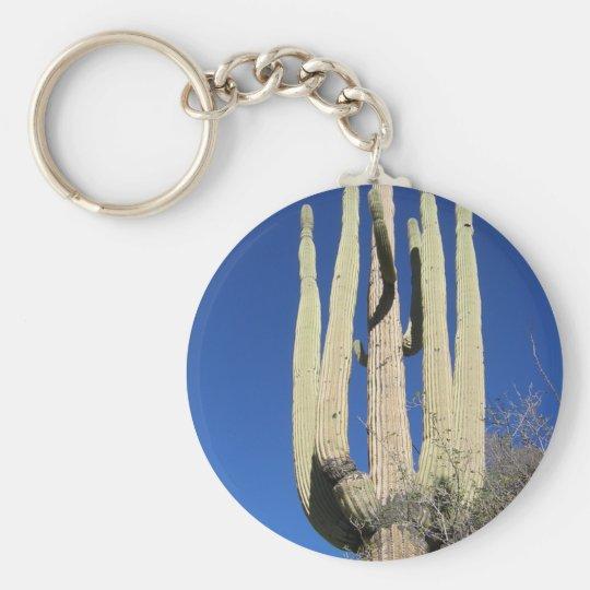 Finger Rock Trail Saguaro Tucson Arizona Keychain