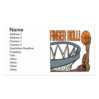 Finger Roll Business Card