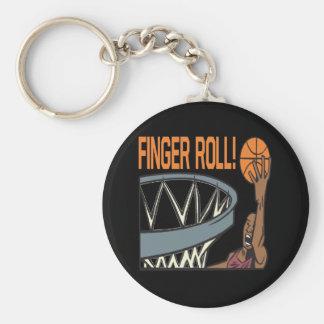 Finger Roll Key Chain