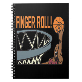 Finger Roll Note Book