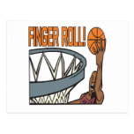 Finger Roll Postcard