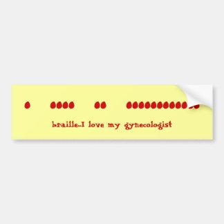 Finger Speak Bumper Sticker