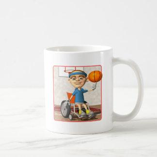Finger Spin Classic White Coffee Mug
