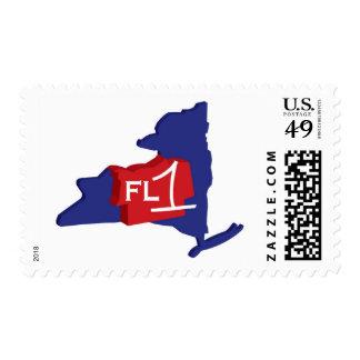 FingerLakes1.com Logo Gear Postage Stamps