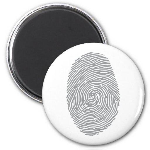 fingerprint2 imán de frigorifico