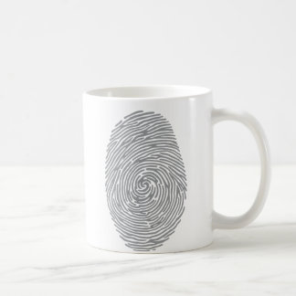 fingerprint2 classic white coffee mug