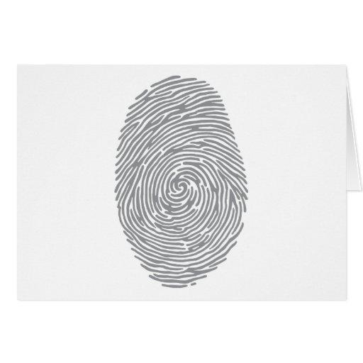 fingerprint2 tarjeta de felicitación