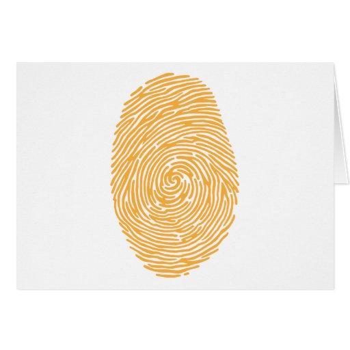 fingerprint3 greeting cards