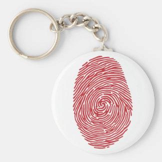 fingerprint5 basic round button keychain