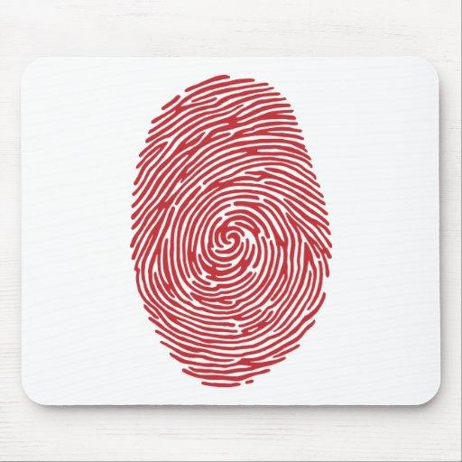 fingerprint5 tapetes de raton