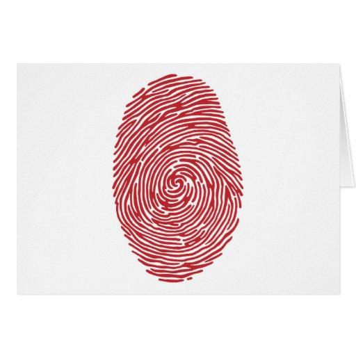 fingerprint5 tarjeta de felicitación