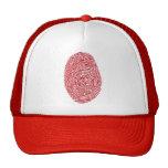 fingerprint5 trucker hat