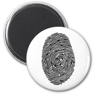 fingerprint 2 inch round magnet