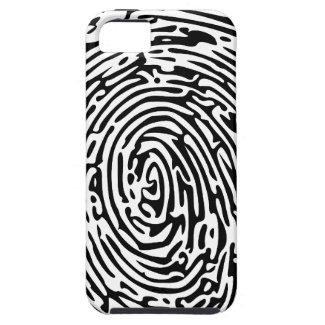 Fingerprint Background iPhone 5 Case