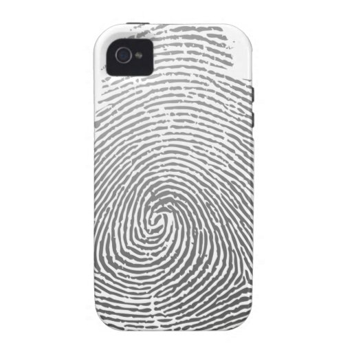 Fingerprint iPhone 4/4S Cover