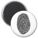 fingerprint fridge magnet
