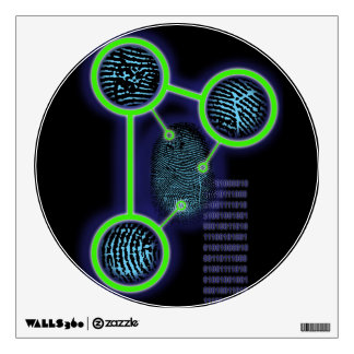 Fingerprint Identification Wall Sticker