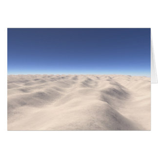 Fingerprint Landscape: Dunes Card