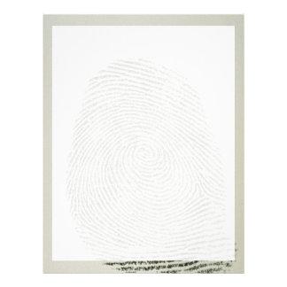 Fingerprint Letterhead Template