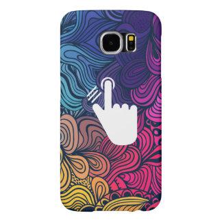 Fingerprint Marks Minimal Samsung Galaxy S6 Cases