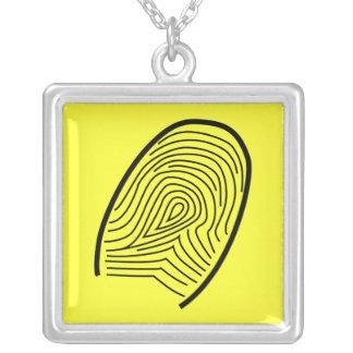 Fingerprint- necklace