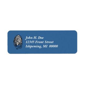 Fingerprint PI Lab Tech CSI Return Address Labels