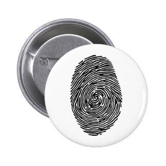 fingerprint pinback button