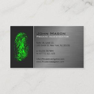 Private Investigator Business Cards Zazzle