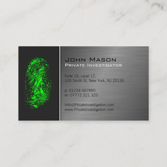 Music Note Personalised Business Cards Fingerprint Designs Christmas